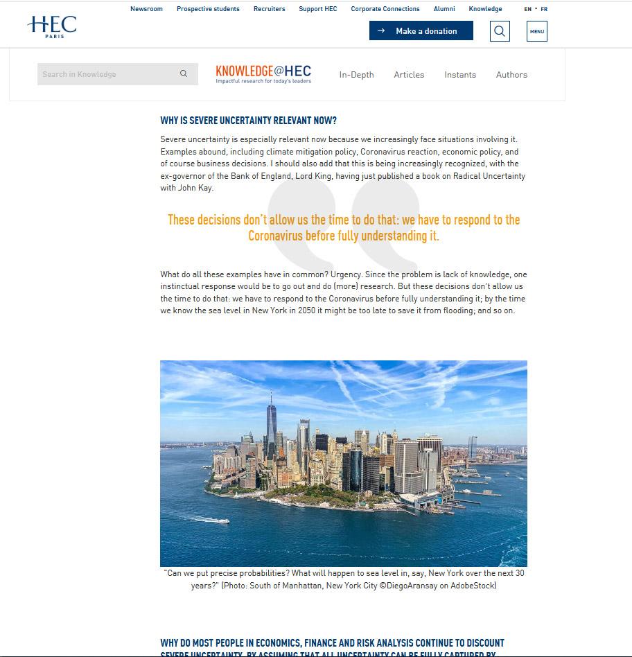 HEC Paris - Business school